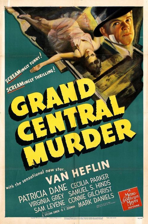 Download Grand Central Murder Full-Movie Free