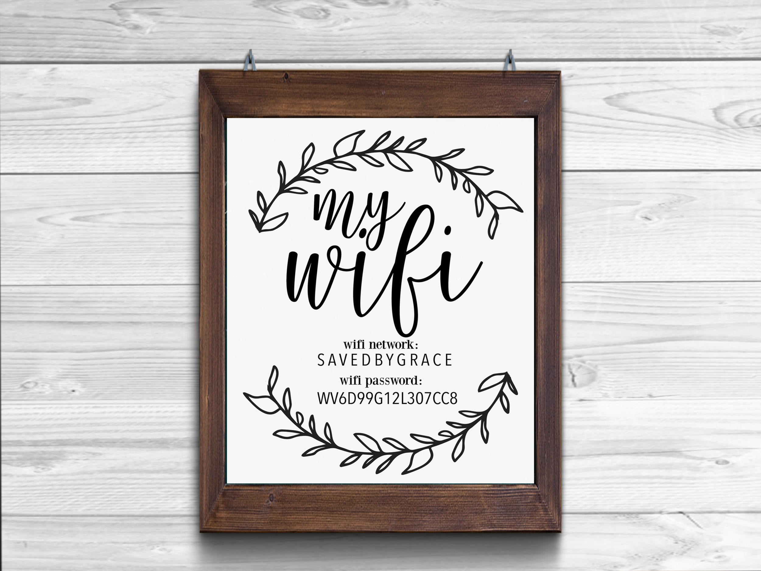 Wifi...farmhouse style. | Saved by Grace Co | Pinterest