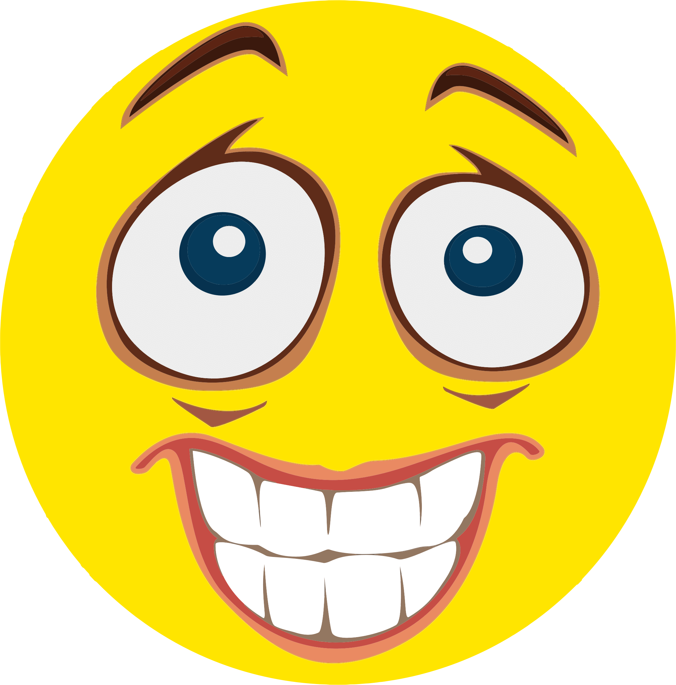 Scared Face Nervous Face Cliparts Png Latest Funny Jokes Funny Laugh Funny Emoji Faces