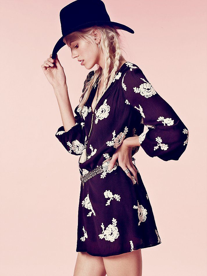 Free people embroidered austin dress at