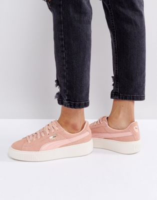 buy best baby real deal Puma Suede Platform Sneaker In Pink | Pretties/Waaaaant in ...