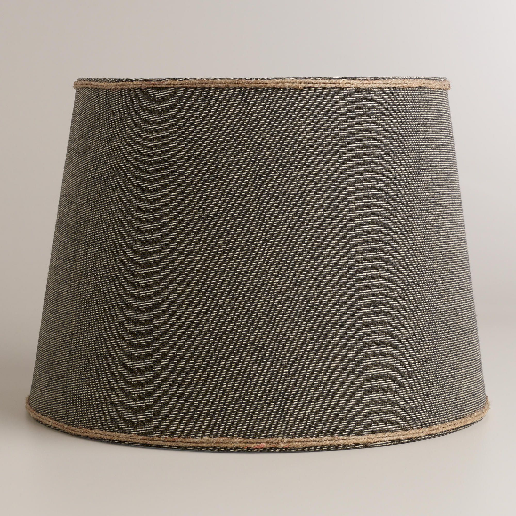 Navy with jute trim table lamp shade world market 2699 house navy with jute trim table lamp shade world market 2699 geotapseo Image collections