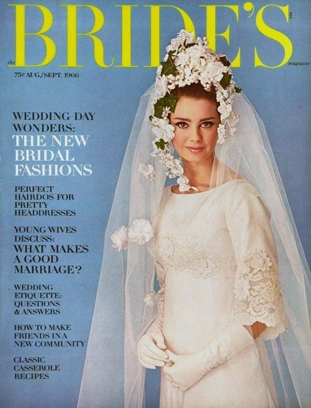 Bride\'s Magazine August/September 1966-my mama\'s wedding dress ...