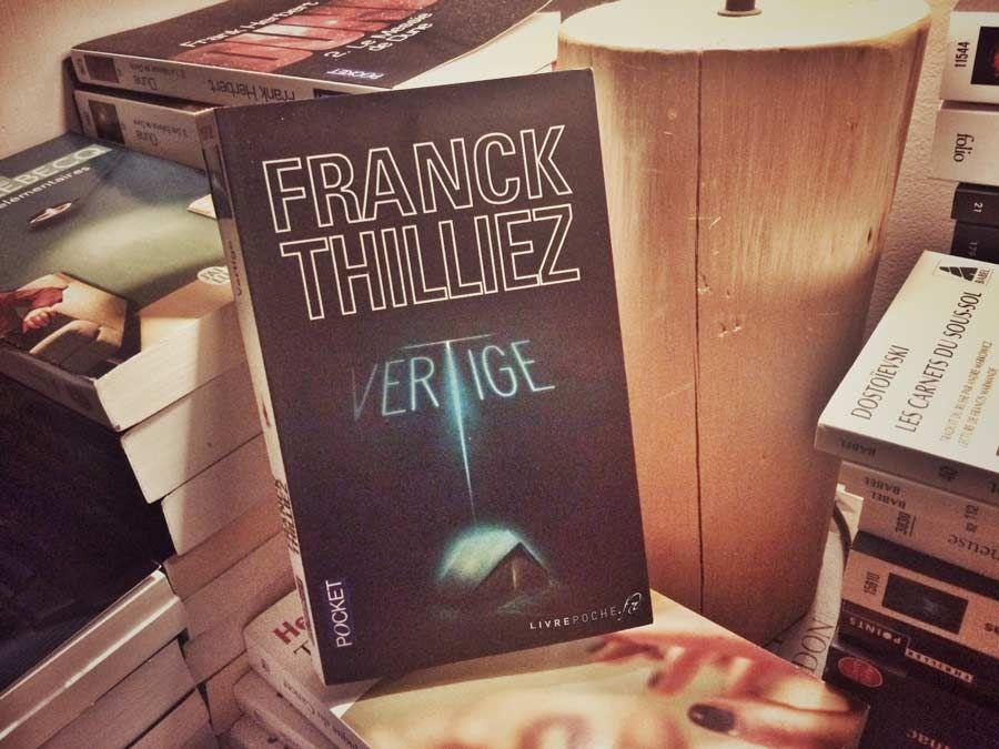 Vertige De Franck Thilliez Vertige Franck Livre Poche