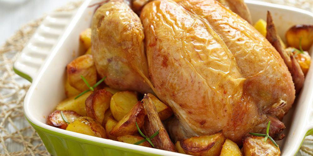 Poulet Roti Au Four Pomme De Terre Poulet Roti Aux Pommes De Terre Recette Poulet Roti Et Pommes De Terre Poulet Roti Recette Poulet Roti