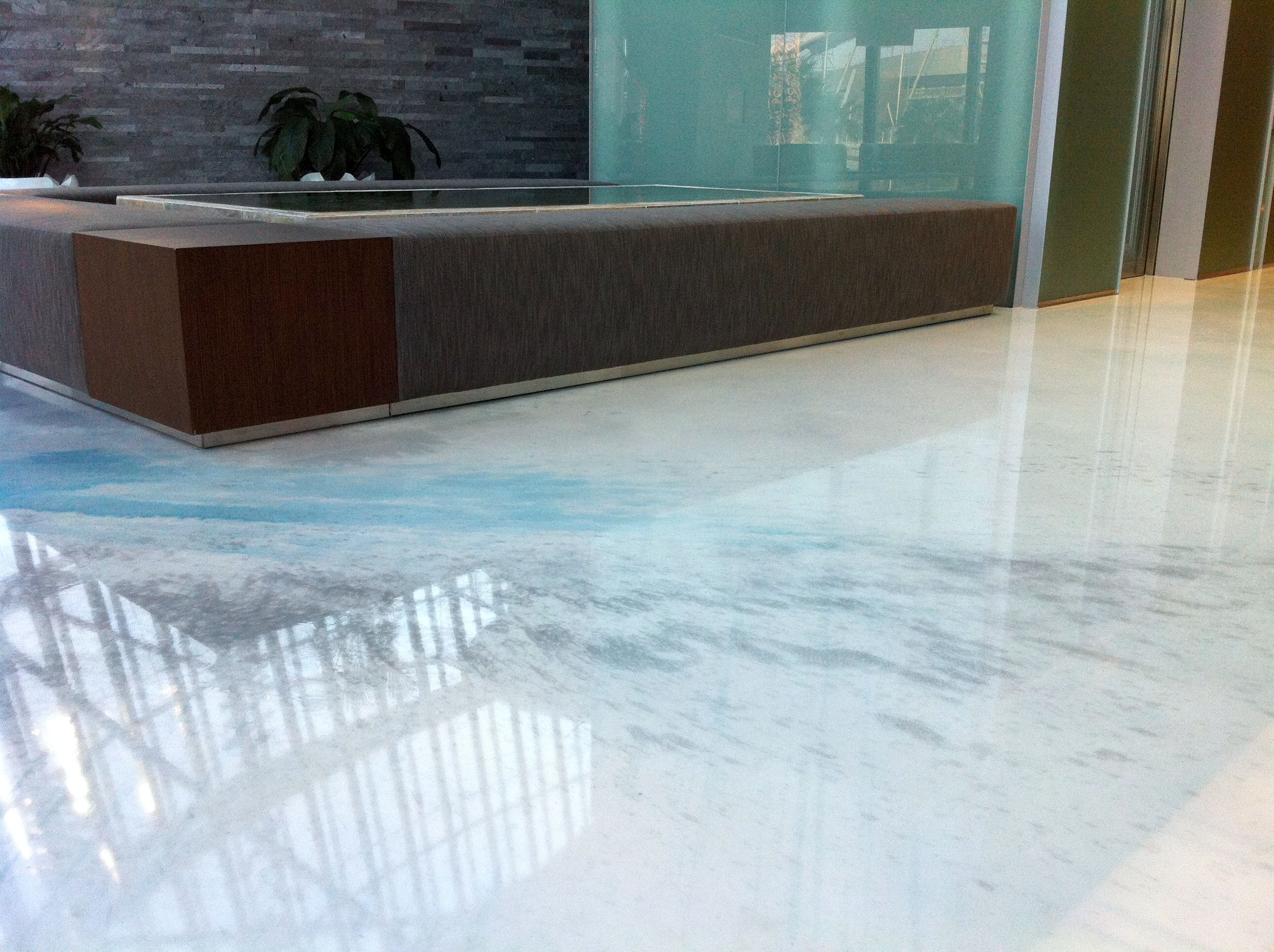 Seamless Flooring Artistic Resin Floor Pavimenti In