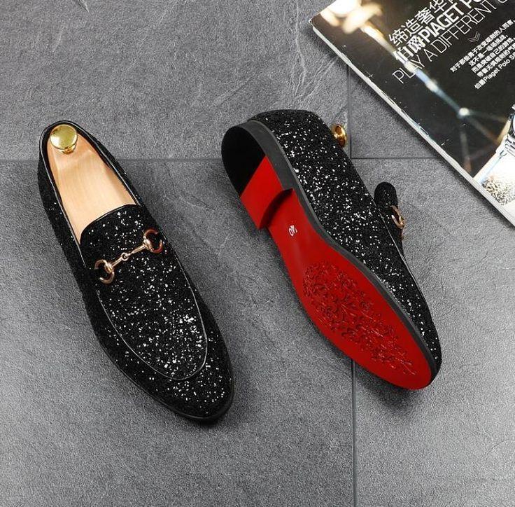 Men Casual Designer Dress Shoes