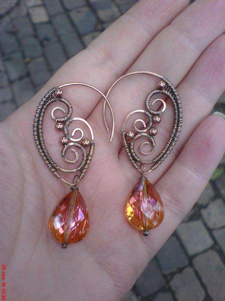 Pin von Ximena Diez auf Aros - Earrings | Pinterest | Ohrringe ...