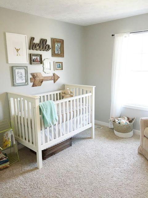 Gender Neutral Nursery Reveal Baby Room Neutral Baby Room Colors Nursery Neutral