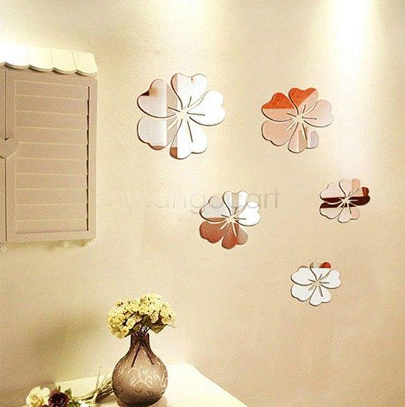 murah dekorasi rumah 5 bunga latar belakang ruang seni permukaan