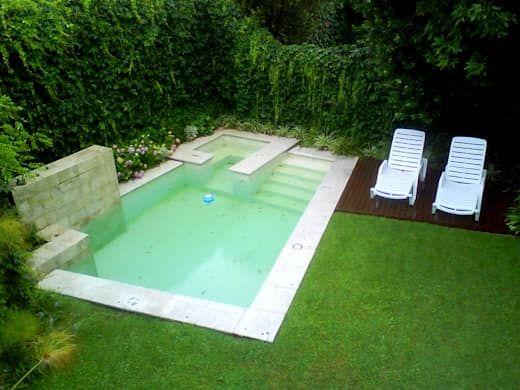 Pools Für Kleine Häuser: 12 Spektakuläre Inspirationen | Pool Im Garten |  Pinterest | Moderne Pools, Abstrakte Malerei Und Abstrakte