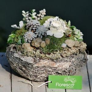 bb2072315 Dušičková aranžmá a celoroční dekorace na hrob   Květinářství Floresco