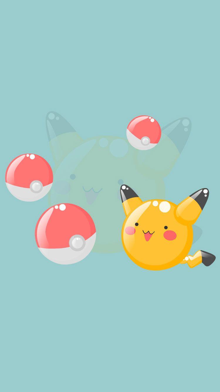 25 Pokemon Go Pikachu Pokeball Iphone 6 Wallpapers