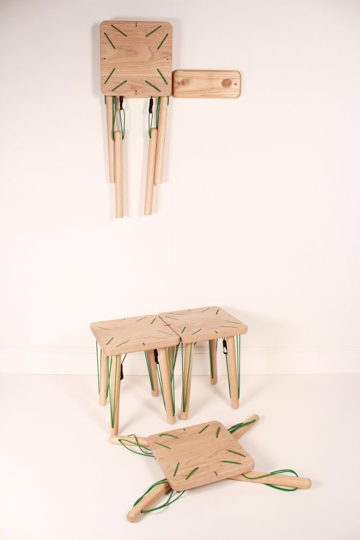 At Full Stretch – Collapsible Modular Furniture System « Ben Beanland Furniture