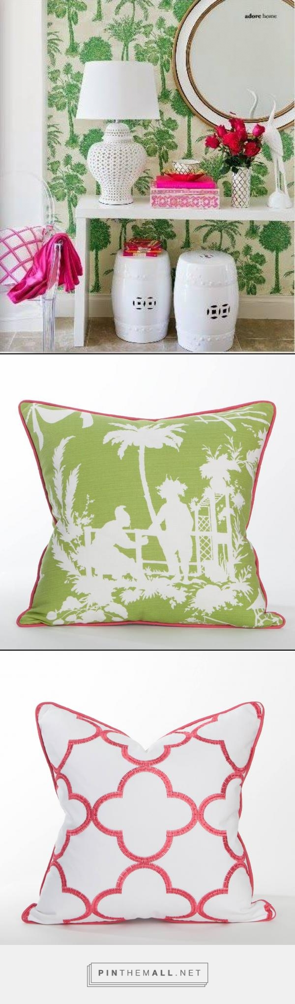 Inspiration...Palm Beach Collection- Coastal Home Pillows