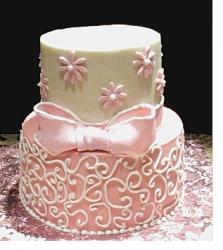 pink bridal shower cakepng