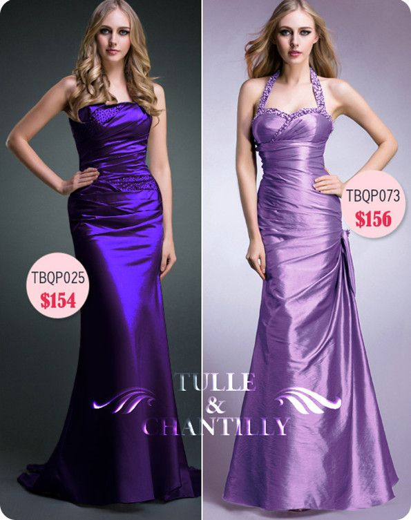 Fabulous Versatile Purple Bridesmaid Dresses For Summer Weddings
