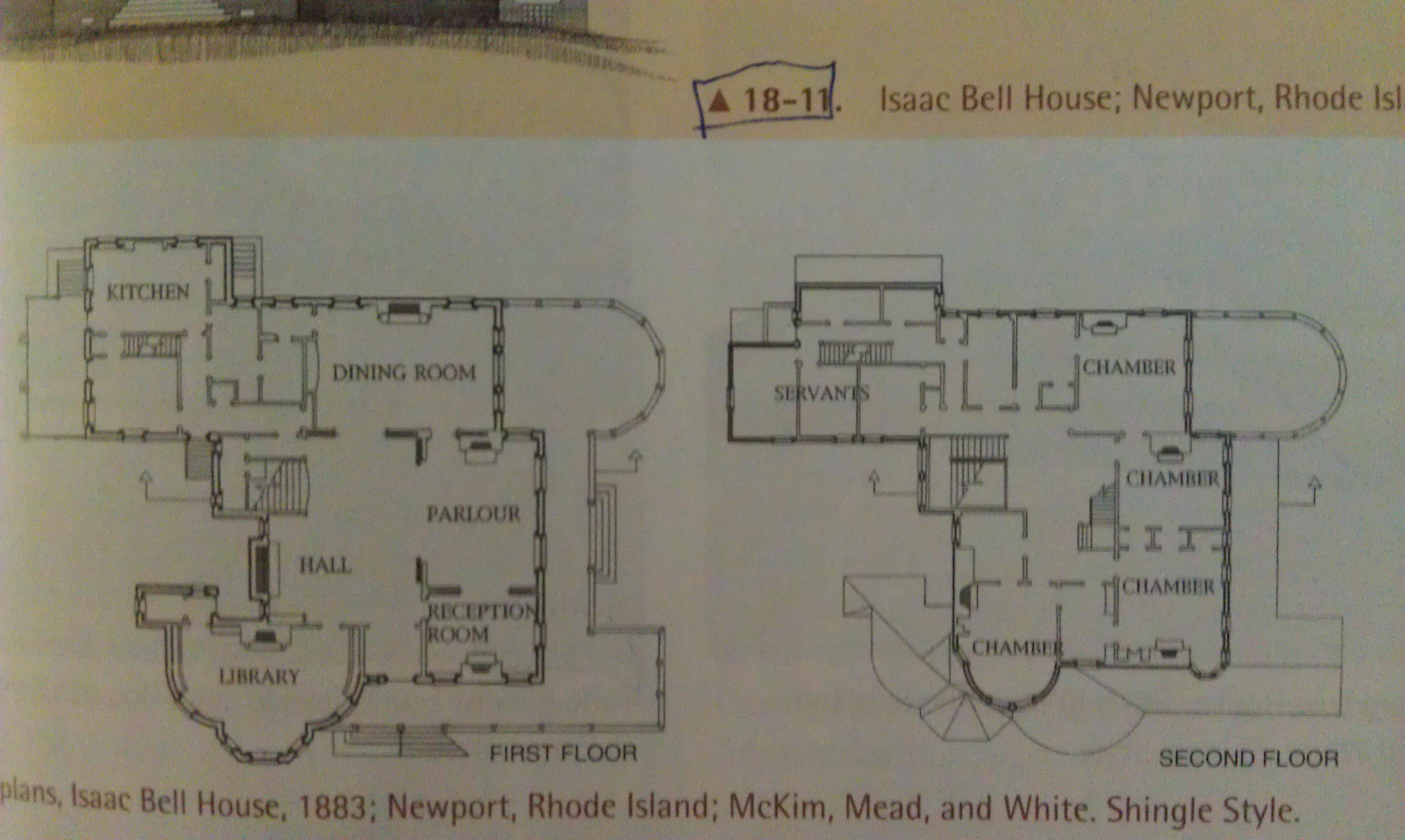 Isaac Bell House Newport Ri Mckim Mead White 1883 Shingle Style How To Plan Shingling