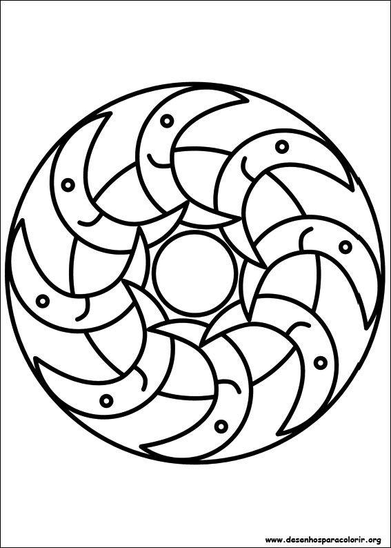 Desenho para imprimir !   Mandalas   Pinterest   Colores, Mandalas ...