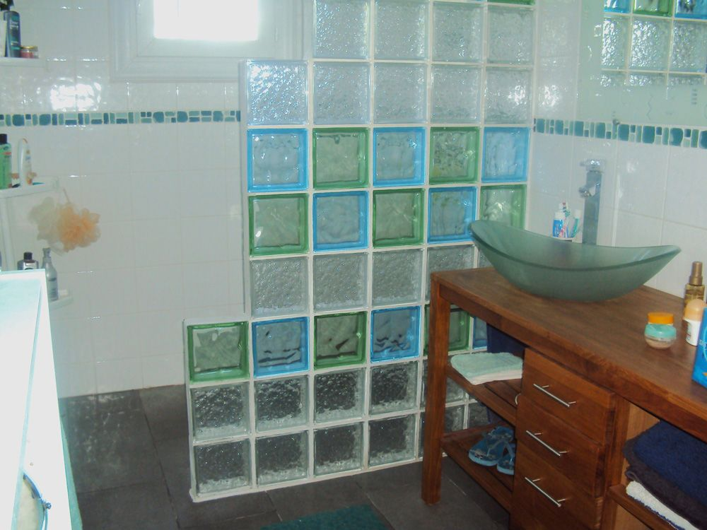 glass block shower wet rooms glass blocks showers construction bathing bedrooms toilettes deco bathroom