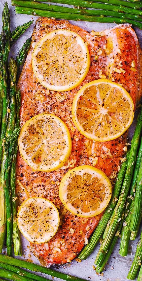 Baked Rainbow Trout with Lemon, Black Pepper, and Garlic - Julia's Album