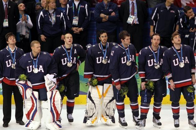 Usa Men S Hockey 2010 Usa Hockey Team Usa Hockey Winter Olympics
