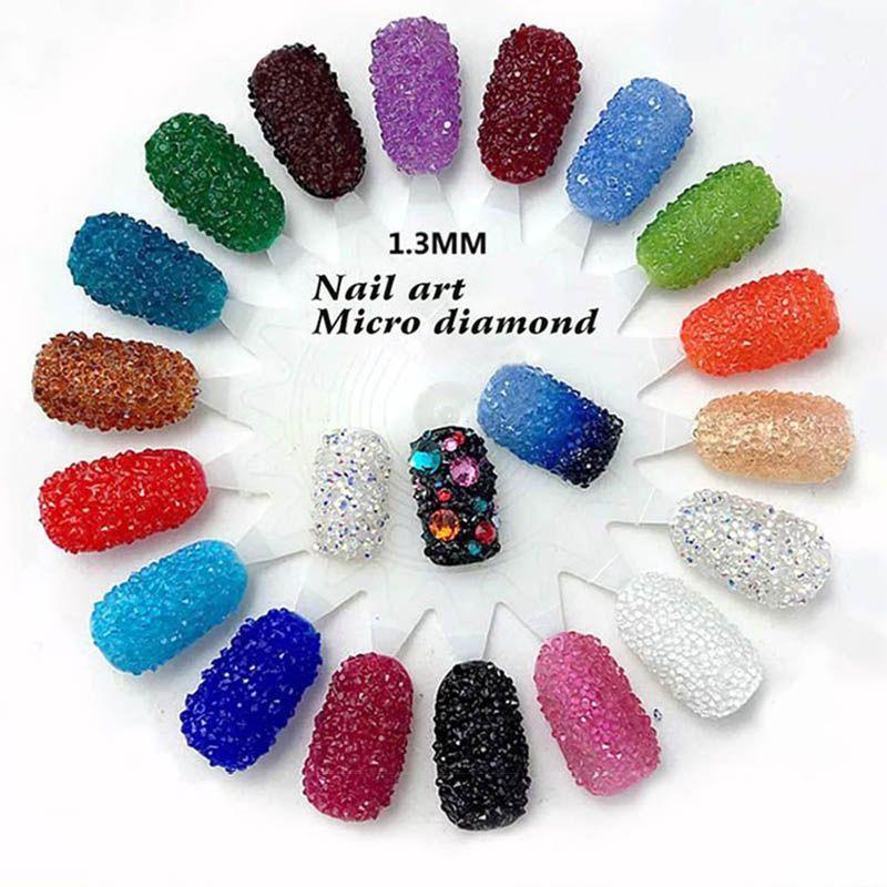 1.3mm nail art rhinestone Micro Rhinestones Mini nail art ...