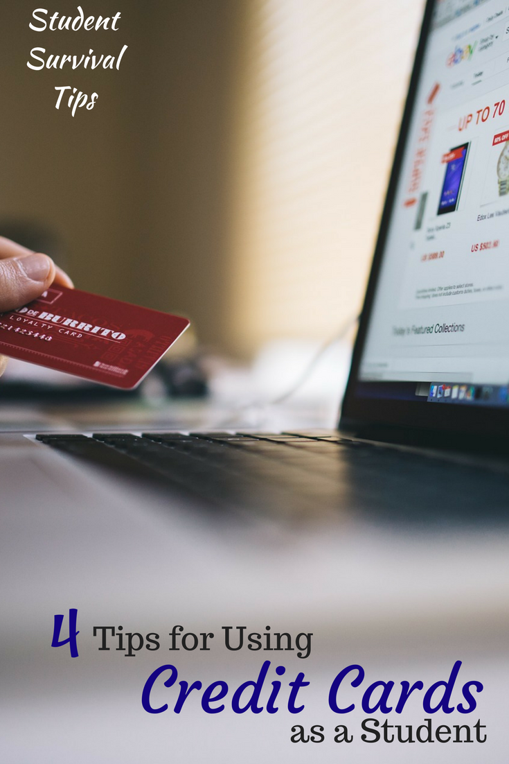 make sure you use your credit cards in a sensible way. your first
