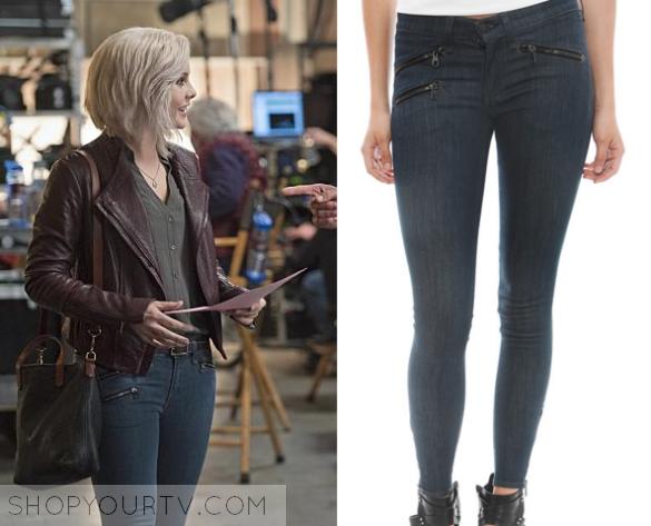 Hair Style Jeans: IZombie: Season 2 Episode 10 Liv's Blue Zip Jeans