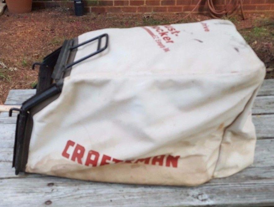 Sears Craftsman 21 Rear Drive Dust Blocker Ez Empty Bag Mower Hook Style