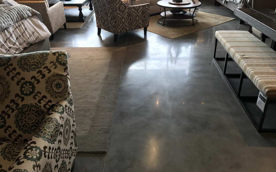 Ordinaire Polished Concrete Ashley Furniture Store Gainesville Florida   Advance  Industrial Coatings