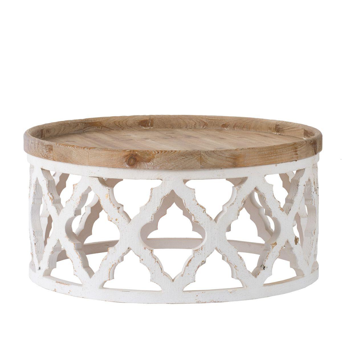 A B Home 45109 Anita 32 Inch Weathered White Coffee Table In 2021 Coffee Table Wood Coffee Table White Round Wooden Coffee Table [ 1200 x 1200 Pixel ]