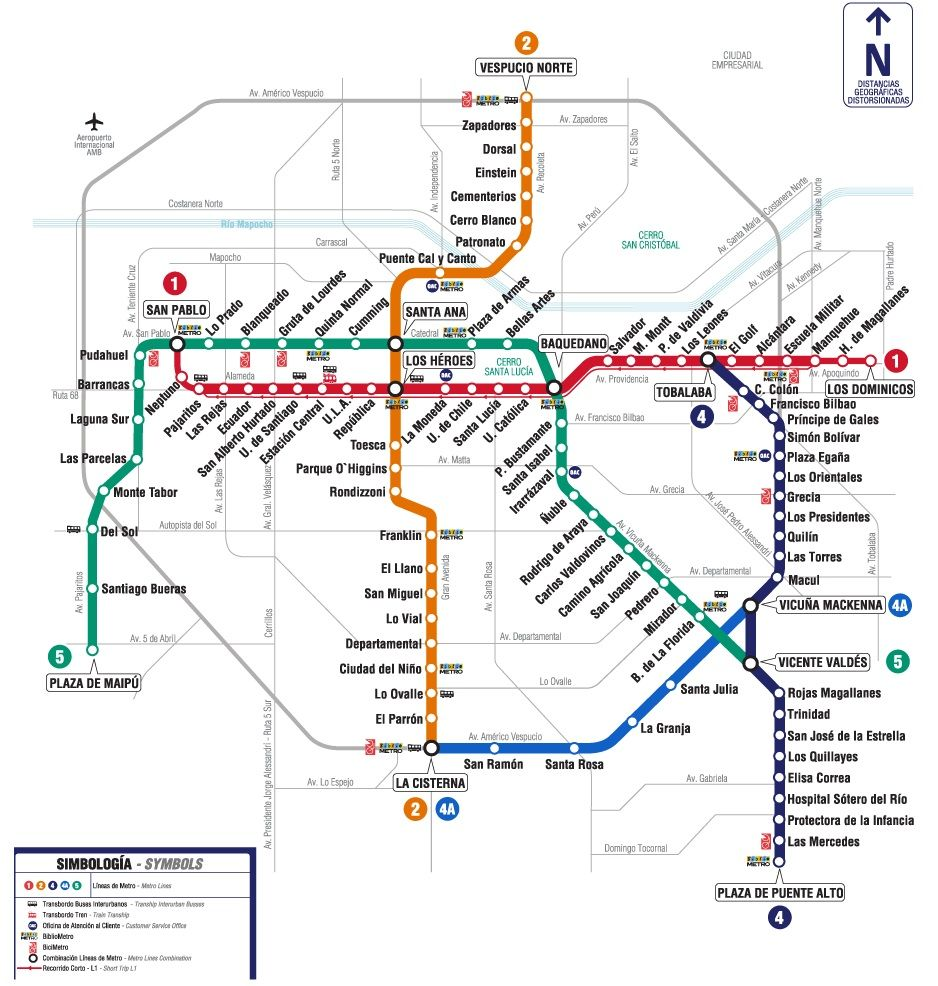 Subway Map In Chile.Santiago Chile Metro Map Pinterest Travel Chile Find Us At