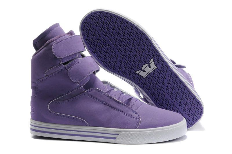 Mens Supra TK Society Purple Shoes