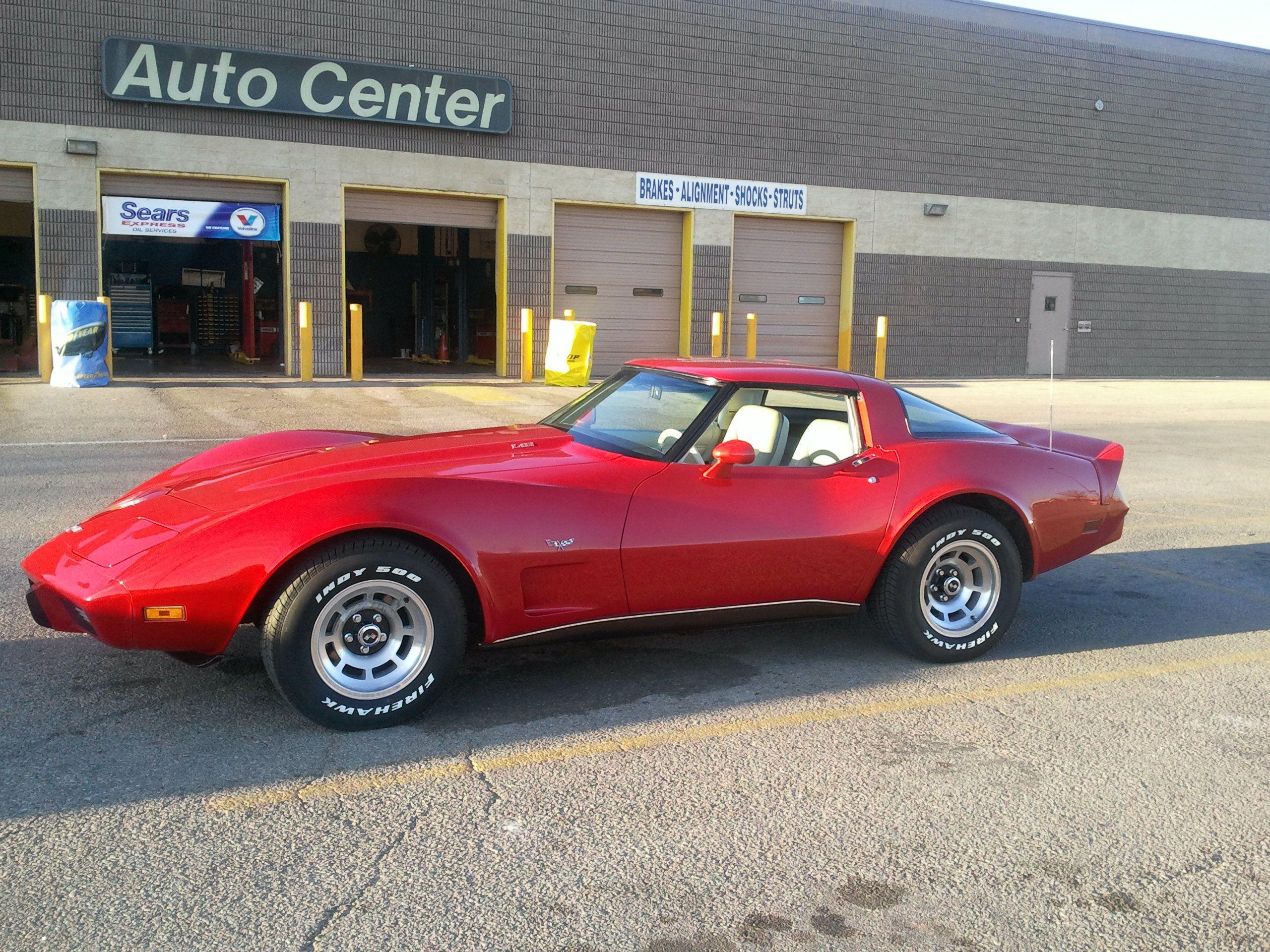 1979 Corvette Yum Red Corvette Corvette Classic Chevrolet