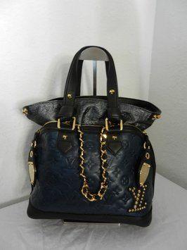 Louis Vuitton Collection Automne-hiver 2009-10 Blue/Black Bag - Satchel 51% off retail