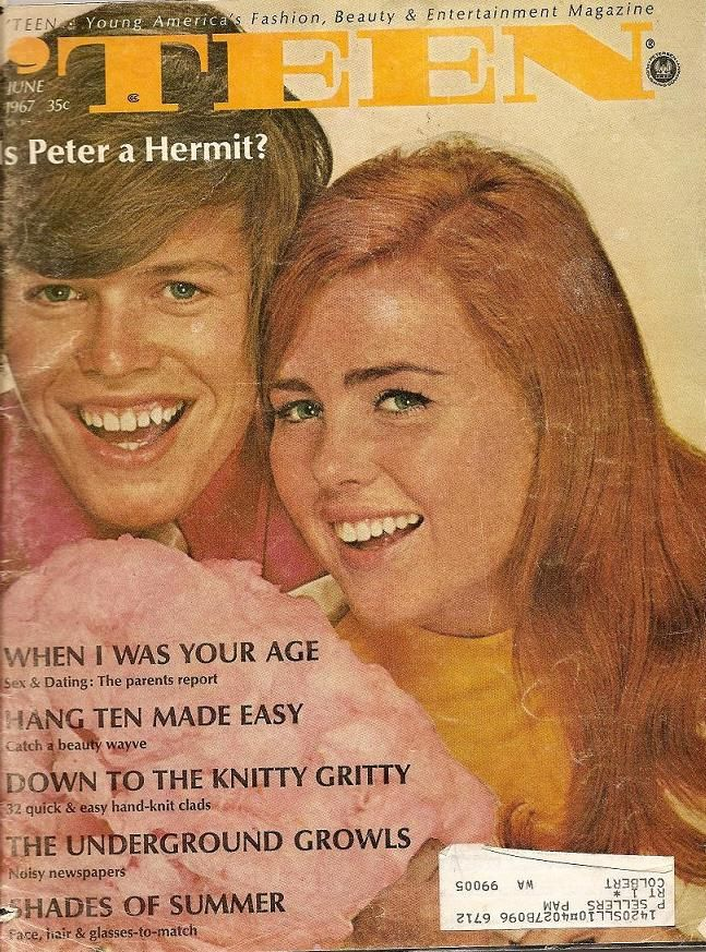 June 1967 cover with nineteen-year-old Peter Noone of Herman's Hermits
