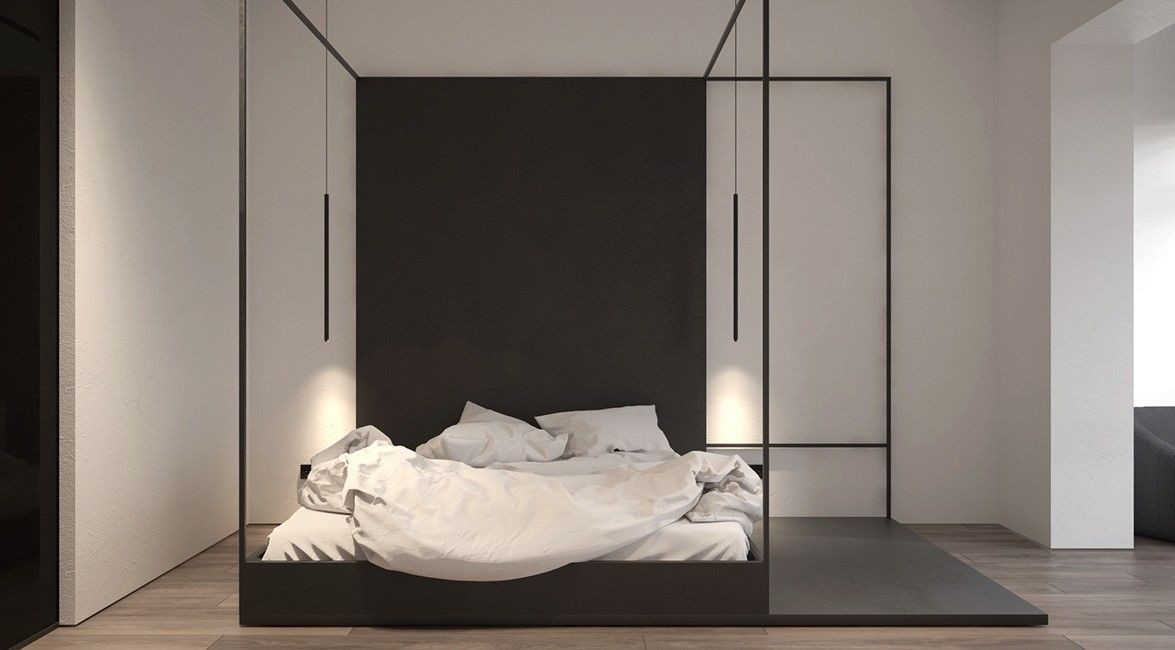 30 Delightful 4 Poster Beds Ideas Pinzones Modern Canopy Bed Canopy Bed Frame Minimalist Apartment