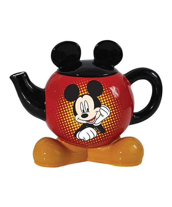 Mickey Mouse Ears Teapot Zulily Mickey Mouse Kitchen Tea Pots Disney Mickey Ears