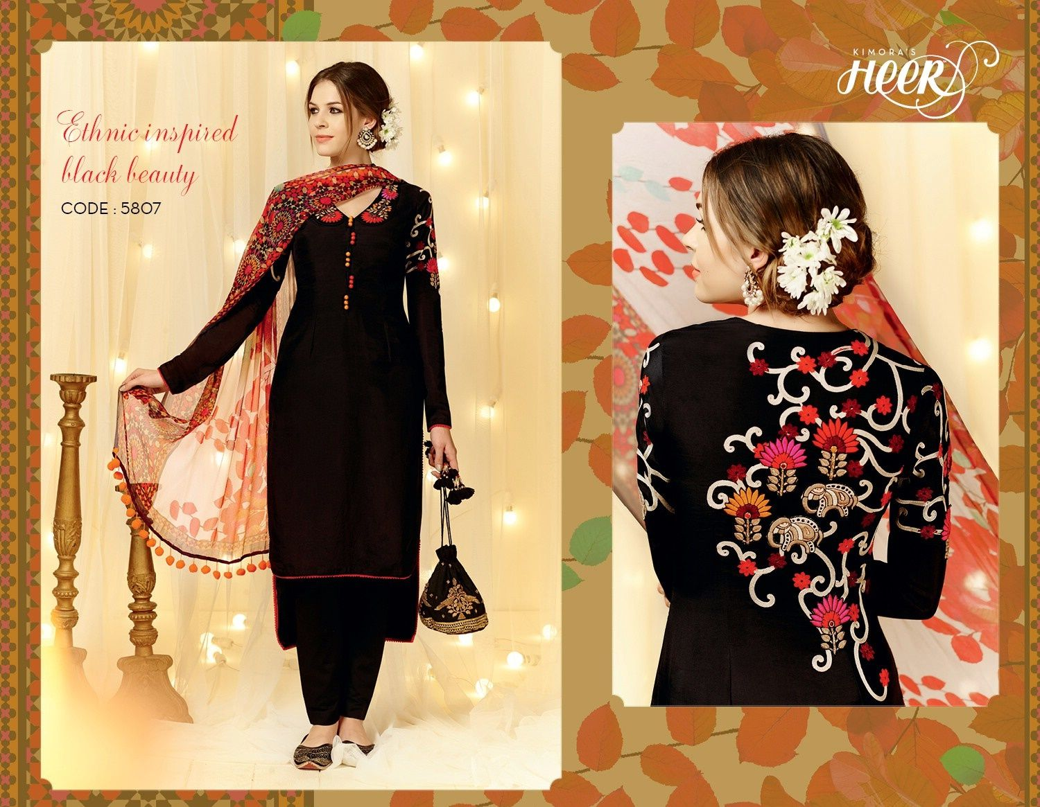 """""""Ethnic Inspired Black Beuty"""" Awesome post by Glamzon #fashion"""