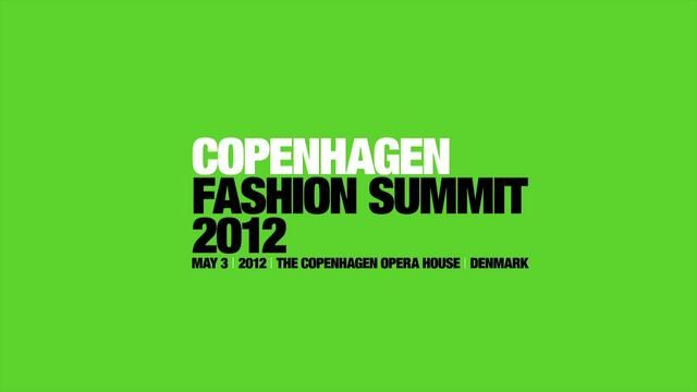 The fashion industry is one of the world's largest industries, and one of the most polluting and exploiting human labour globally. The impact on our planet has reached it's maximum. This calls for action.Be NICE help change the world of fashion - join us at http://www.copenhagenfashionsummit.com
