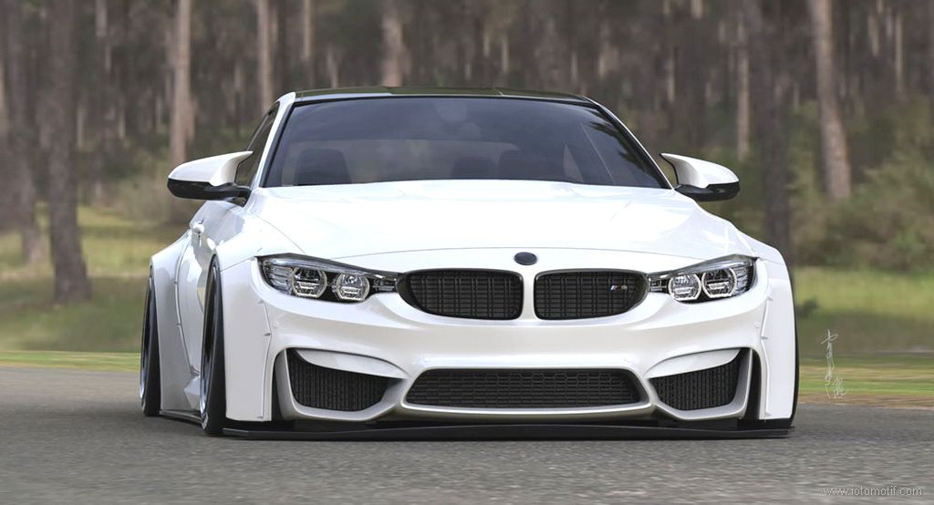 White Bmw M4 Wide Body Tags Bmw M4 Modifikasi Bmw Modifikasi Bmw
