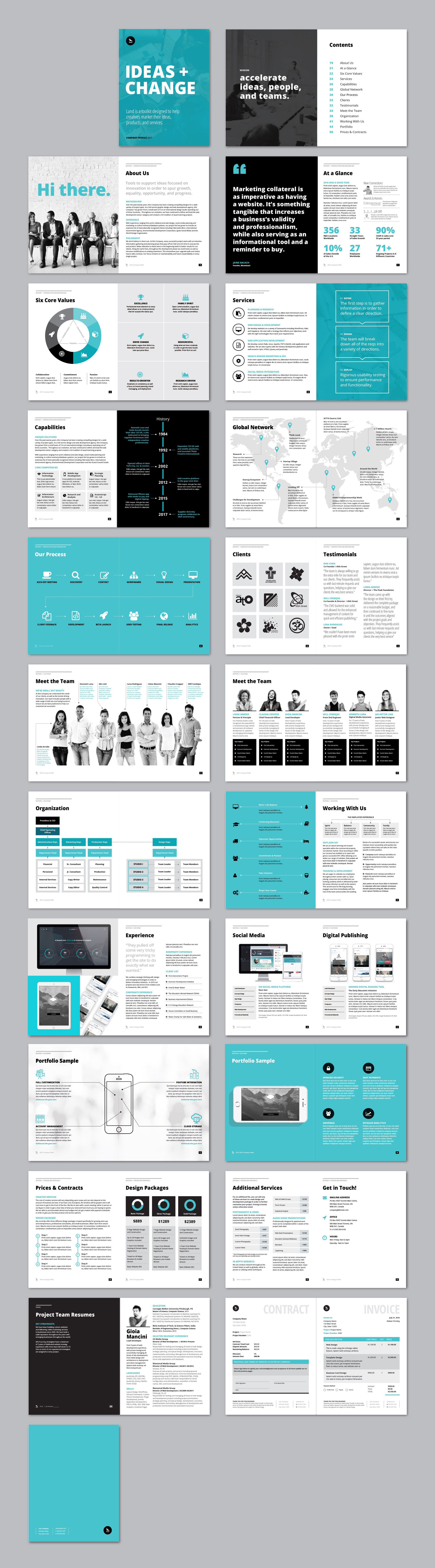 #Company #Profile & #Overview #Template 	#a4 #about #us #agency #Agency #booklet #brand #brief #business #proposal #Company #Profile #corporate All Pages Download here: https://graphicriver.net/item/company-profile-overview-template/19963836?ref=alena994
