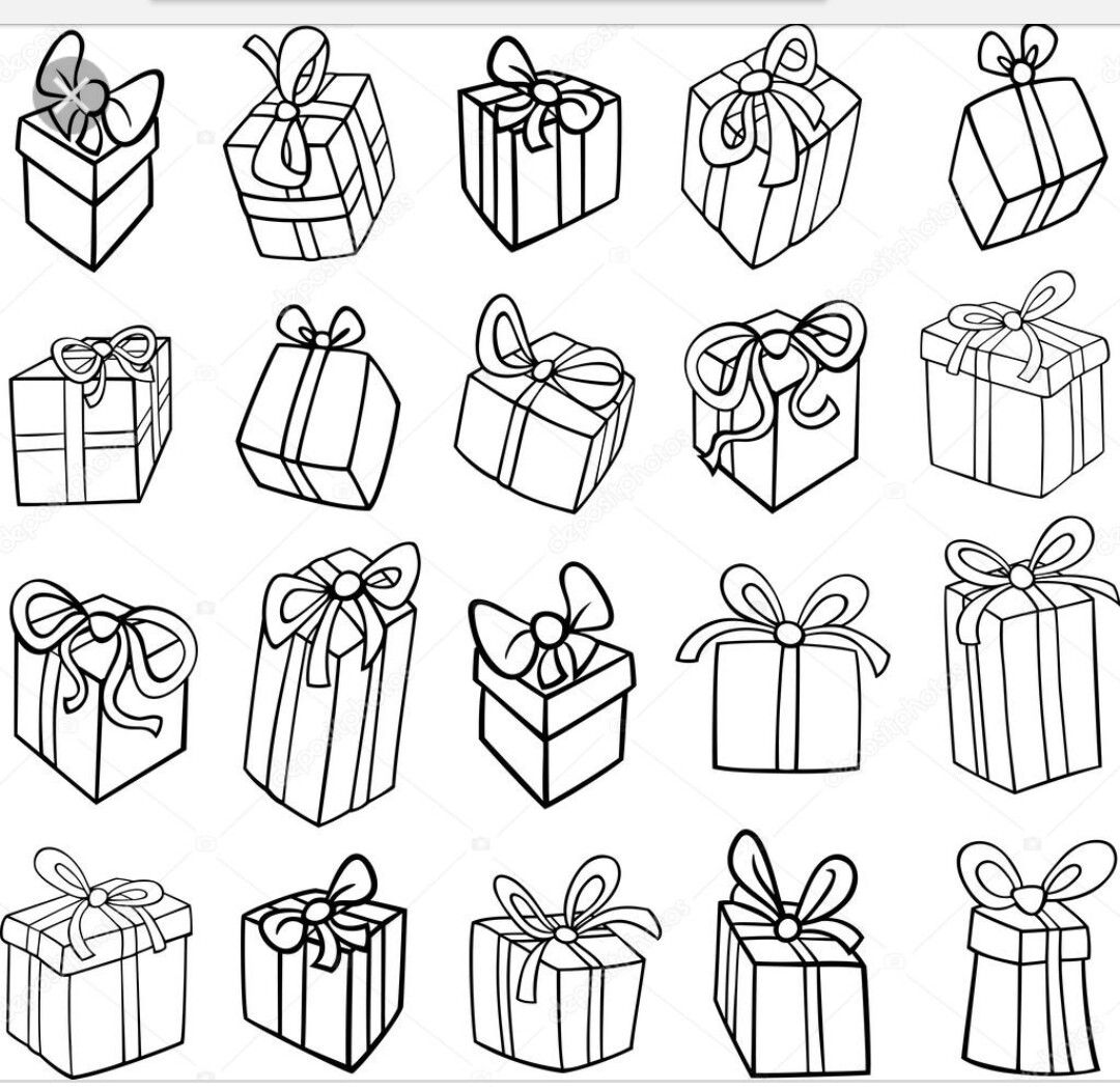 17+ Christmas present clipart black and white ideas in 2021