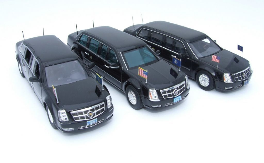Obama\'s Cadillac One - Model News | Scale model | Pinterest ...