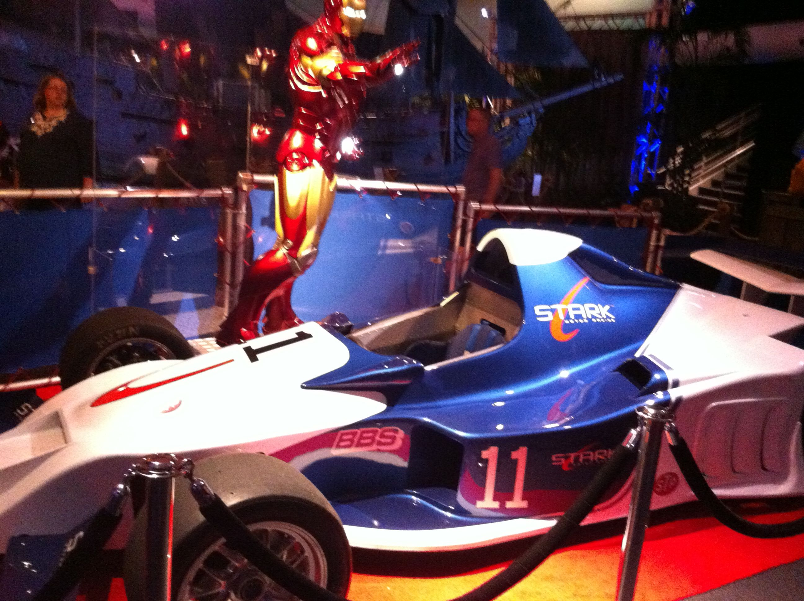 Tony Stark Racecar From Ironman 2 Tony Stark Race Cars Movie Props
