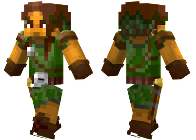 2 ways to install forest hunter skin minecraft skins pinterest 2 ways to install forest hunter skin sciox Choice Image