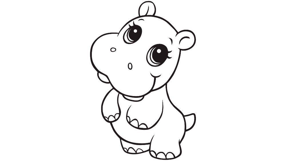 Resultado De Imagen Para Como Dibujar Un Hipopotamo Libro De