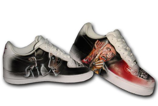 0258f5ac57a9f4 Custom Nike Air Force 1 Airbrush Shoes Sneaker Graffiti style Schuhe  painted ny