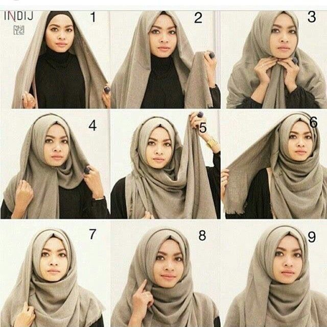 Beautiful Simple Wrap Hijab Tutorial Hijab Tutorial Hijab Fashion Inspiration Hijab Style Tutorial